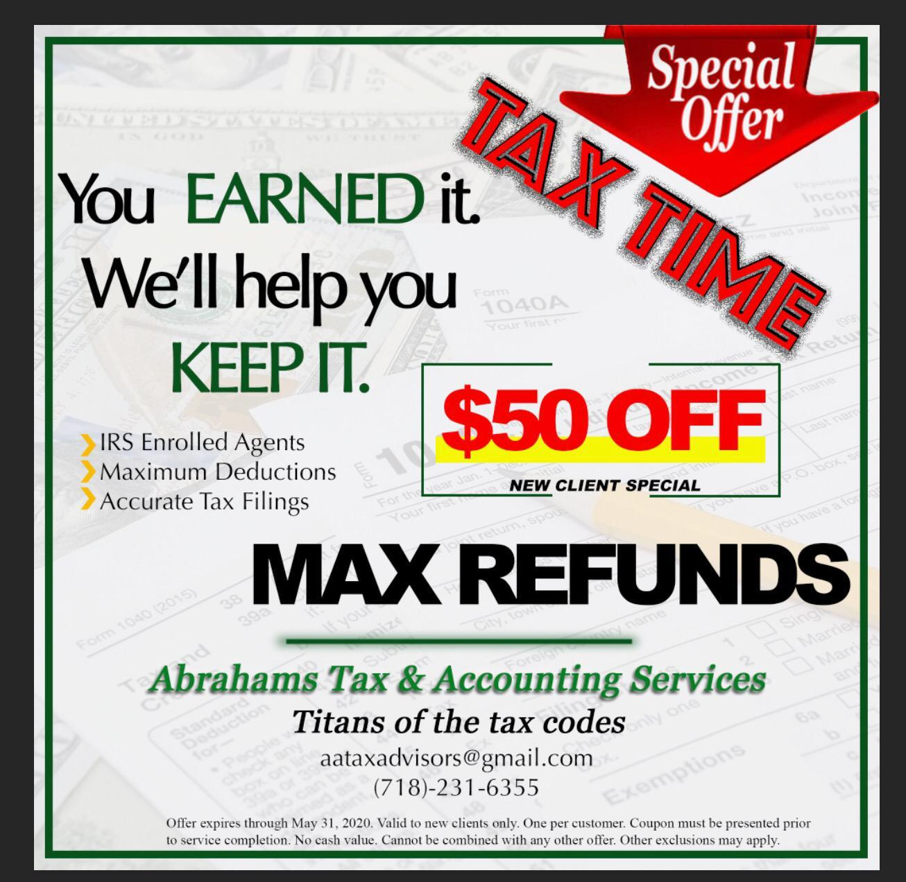 Tax Services in the Bronx, New York